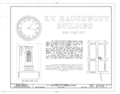E. V. Haughwout and Company Building, 488-492 Broadway, New York, New York County, NY HABS NY,31-NEYO,70- (sheet 1 of 5).png