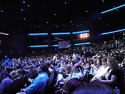 E3 2011 - Nintendo Media Event - the crowd awaits the start of the event (5811354248)