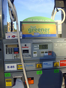 E85 Gas Stations >> Alternative fuel vehicle - Wikipedia