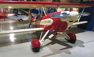 EAA Biplane - EAA Biplane on display