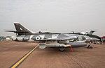 EGVA - Hawker Hunter F58 - ZZ191 (42082935380).jpg