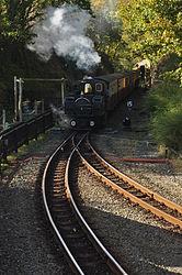 Earl of Merioneth at Tan-y-Bwlch railway station (8330).jpg