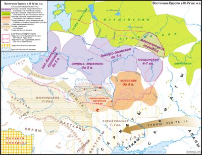 Этногенез славян схема