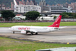Easter Jet Boeing 737-883 HL8289 Departing from Taipei Songshan Airport 20150321d.jpg