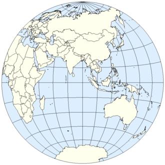 Eastern Hemisphere - Eastern Hemisphere