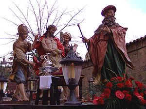 Holy Week in Spain - Holy Week float of Salamanca