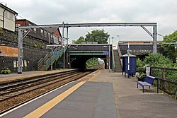 Eccles railway station (geograph 4004665)