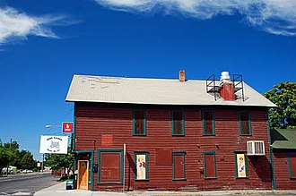 National Register of Historic Places listings in Umatilla County, Oregon - Image: Echo Saloon Building (Umatilla County, Oregon scenic images) (uma DA0077)