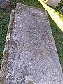 Edburton, St Andrews Church, grave of George Keith.jpg