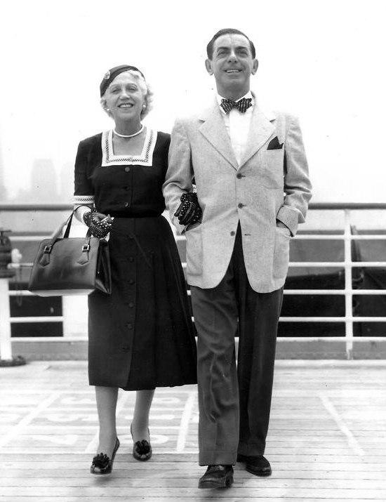 Eddie and Ida Cantor 1952