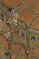 Edgar Degas: Miss La La at the Cirque Fernando