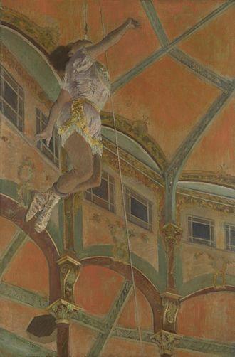1879 in art - Edgar Degas – Miss La La at the Cirque Fernando