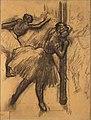 Edgar Degas - Tänzerin an einer Säule lehnend.jpg