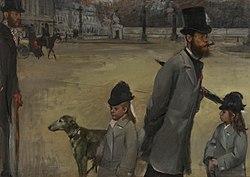 Edgar Degas: Place de la Concorde