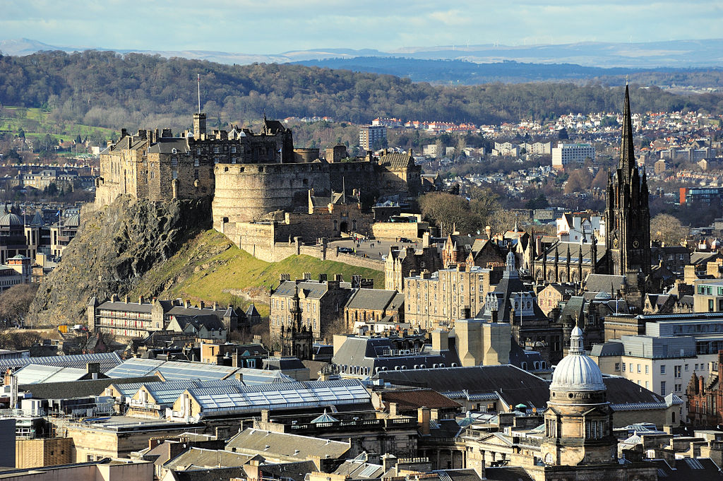 Edinburgh Castle Rock