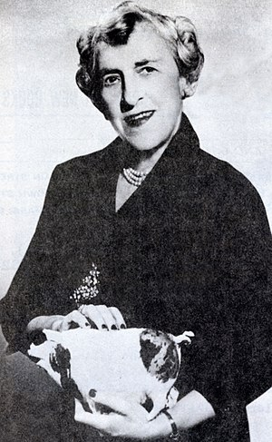 Edith Rosenbaum - In her later years, Edith Russell and her toy pig were in demand for TV and radio talk shows.