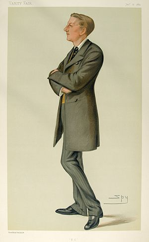 "Edric Gifford, 3rd Baron Gifford - ""V.C."". Caricature by Spy published in ''Vanity Fair'' in 1880."