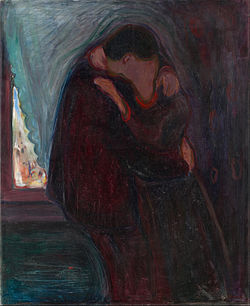 Edvard Munch - The Kiss - Google Art Project.jpg