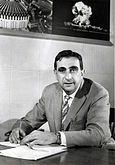 Edward Teller in 1958 as Director of the Lawrence Livermore National Laboratory