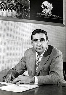 Edward Teller Hungarian-American nuclear physicist