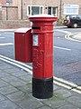 Edward VII postbox, Brinkburn Avenue - geograph.org.uk - 1591733.jpg
