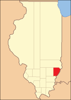 Edwards County, Illinois - Image: Edwards County Illinois 1819