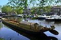 Een replica van een Romeinse boot in Woerden..JPG