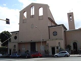 Santi Fabiano e Venanzio a Villa Fiorelli church