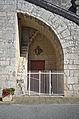 Eglise de Fontanes - 20140926 - Détail du fronton.jpg