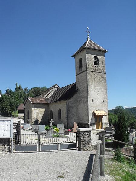 Eglise de Solemont, Doubs, France