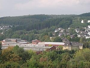 Arnold Jung Lokomotivfabrik - Overview of the remaining factory premises