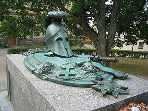 Suomenlinna - Augustin Ehrensvärd's grave at Suomenlinna