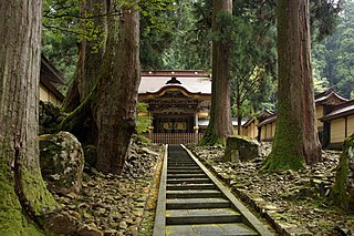 Buddhist temple in Fukui Prefecture, Japan