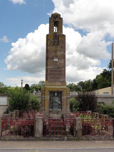 Einville-au-Jard (M-et-M) monument aux morts