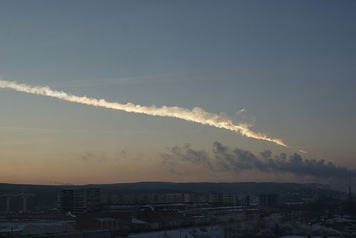Ekaterinburg view of 2013 meteor event