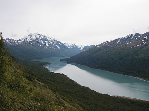 Eklutna-lake-and-bold-peak