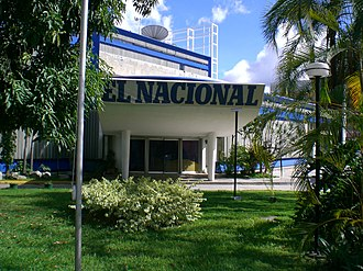 El Nacional (Caracas) - Image: El Nacional building