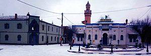 El Bayadh - Image: El bayadh, centre ville , moment de la neige