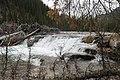 Elbow river new waterfall (27526352440).jpg