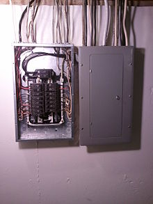 220px Electrical_panel_and_subpanel_with_cover_removed_from_subpanel distribution board wikipedia  at readyjetset.co