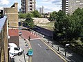 Elephant Road by Elephant and Castle railway station - geograph.org.uk - 1459491.jpg