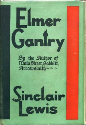Elmer Gantry - First edition cover