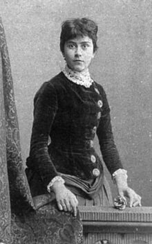 Else Lasker-Schüler shortly after her first marriage