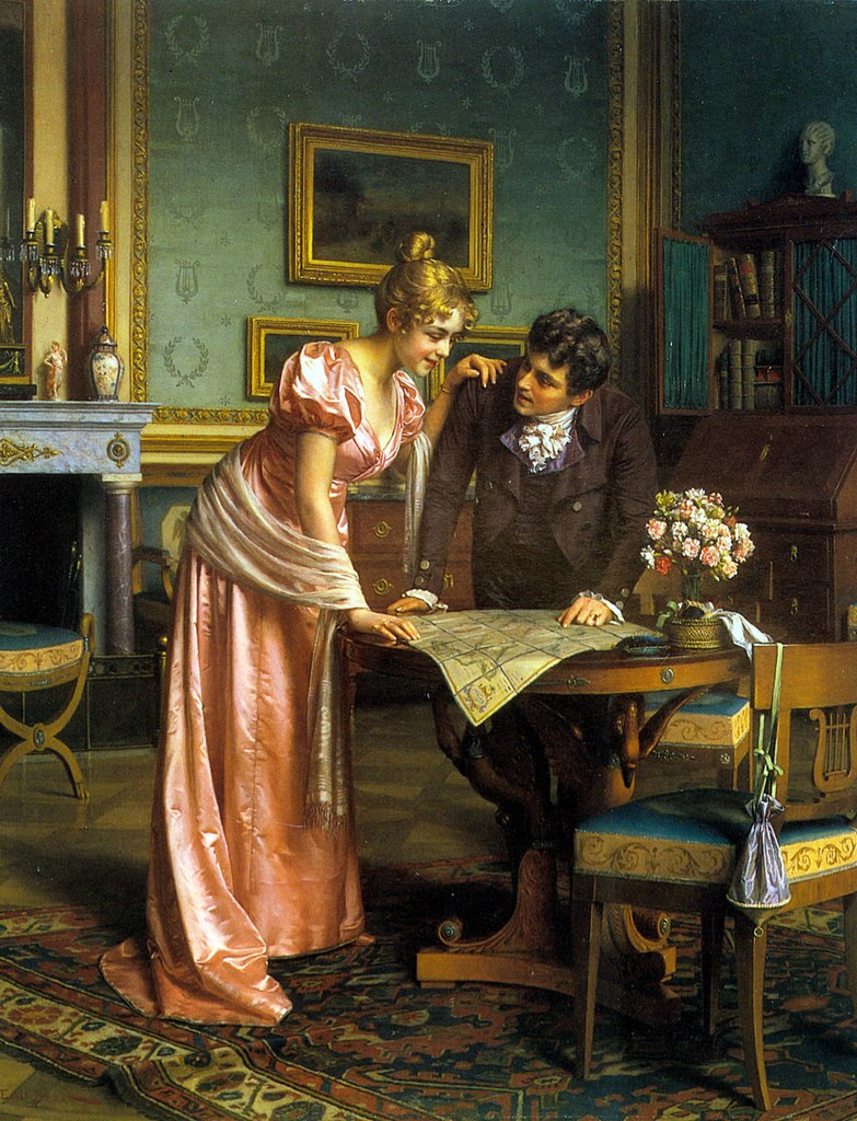 Planning the Grand Tour, by Emil Brack