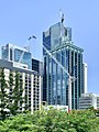Emma Miller Place, construction of 80 Ann Street, State Law Building, 300 George, Brisbane, February 2020, 02.jpg