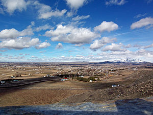 Emmett, Idaho - Aerial view of Emmett