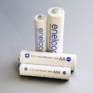 Eneloop - Panasonic's fourth-generation Eneloop batteries, in AA and AAA sizes