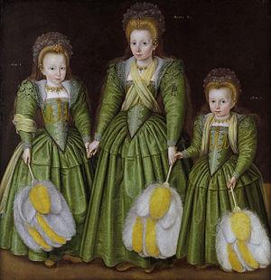 Portrait of the Egerton Sisters, Elizabeth, Ve...
