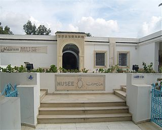 archaeological museum in Nabeul, Tunisia