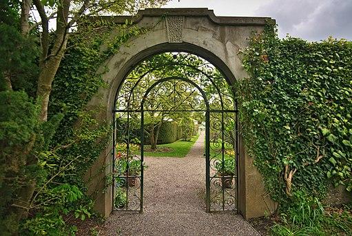 Entrance to Walled Garden at Farmleigh